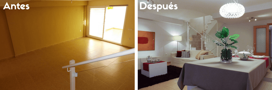 Home staging para vender piso