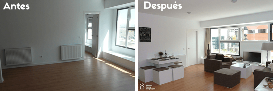 Home staging para vender casas